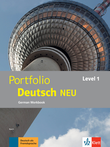 Cover Portfolio Deutsch NEU Level 1 978-3-12-605321-1 Deutsch als Fremdsprache (DaF)