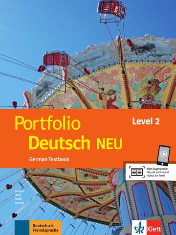 Cover Portfolio Deutsch NEU Level 2 978-3-12-605324-2 Deutsch als Fremdsprache (DaF)