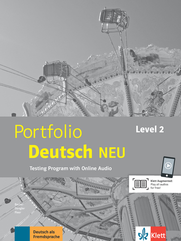 Cover Portfolio Deutsch NEU Level 2 978-3-12-605327-3 Deutsch als Fremdsprache (DaF)