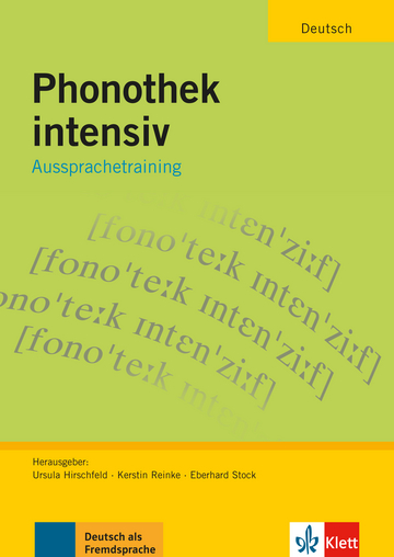 Cover Phonothek intensiv B1-C1 978-3-12-606385-2 Deutsch als Fremdsprache (DaF)