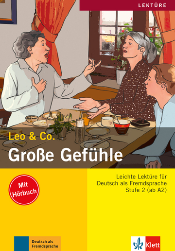 Cover Leo & Co. A2 978-3-12-606409-5 Elke Burger, Theo Scherling Deutsch als Fremdsprache (DaF)